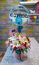 A N E K A B U N G A Toko Bunga Papan Rangkaian Ucapan Florist Jakarta Parcel Bouquet Board Flowers Rose Fresh Artificial Flower Stickwerk Stick Werk Balon Gift Baloons Baju Bayi Mawar Rose Lily Birthday